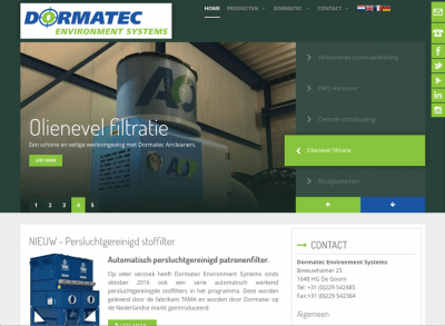 Joomla website Dormatec